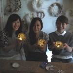 ドライフラワーランプのワークショップ(手作り体験) 名古屋