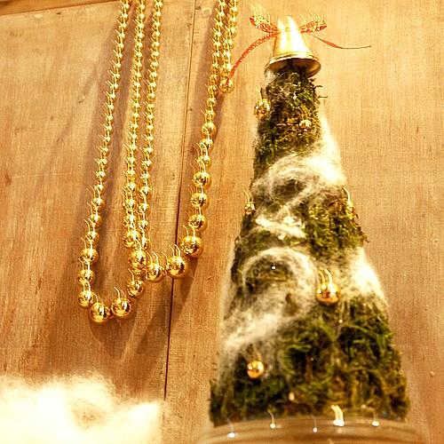クリスマスツリー手作り体験