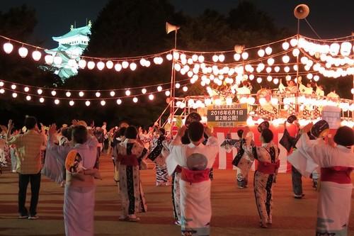 名古屋城 お祭り