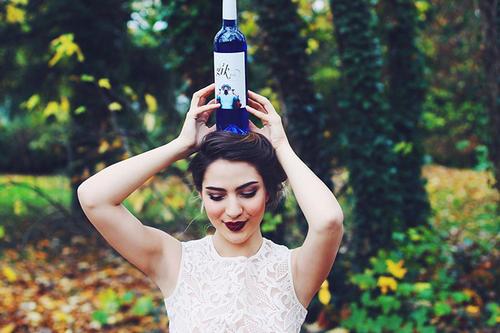 青ワイン 画像