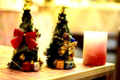 クリスマスツリー ハンドメイド