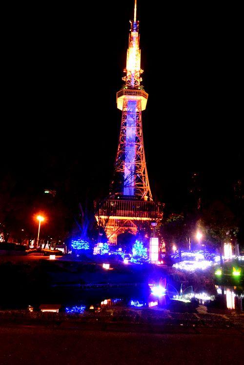 イルミネーション テレビ塔