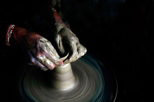 陶芸 画像
